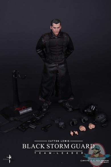 1 6 Scale Black Storm Guard Action Figure Vts Toys Man