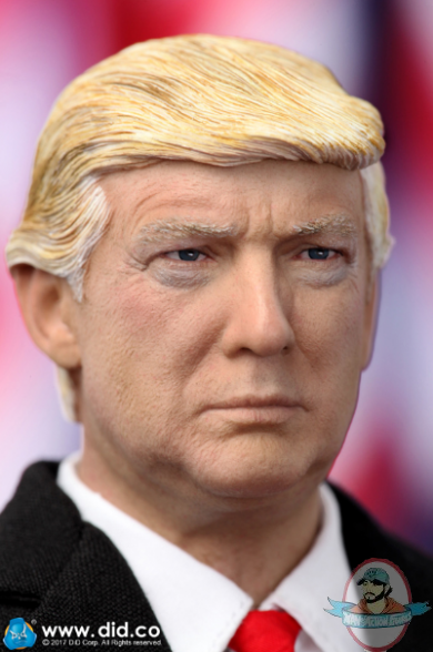 Black Suit Variant Donald Trump US Presidents 8 Inch Action Figures Series