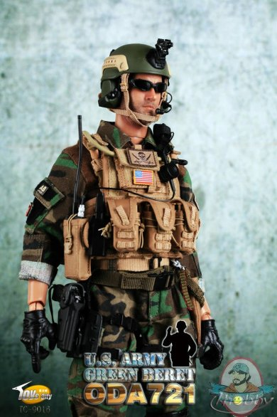 U S Army Green Beret 12 Inch Figure By Toys City Man Of