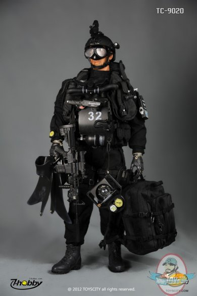 1 6 scale us navy seal sdvt 1 combat diver by toys city man of action figures - Navy seal dive gear ...