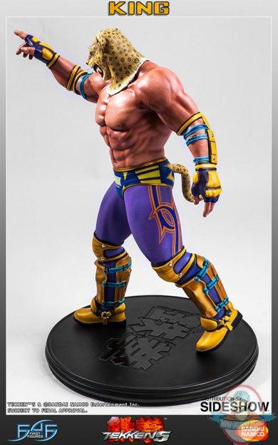 1 4 Scale King Tekken 5 Statue First 4 Figures Man Of Action Figures