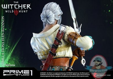 The Witcher 3 Wild Hunt Ciri Of Cintra Statue Prime 1