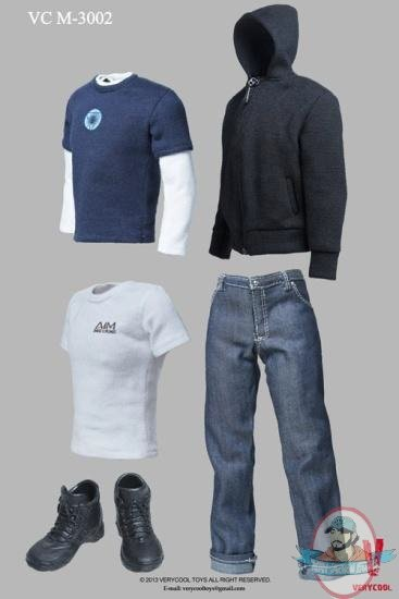 1 6 Scale Quot Tony Stark Quot Clothing Set For 12 Inch Figures By