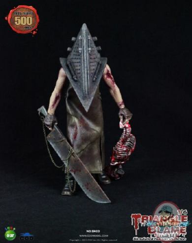 Coo Model 1 6 Scale Triangle Blame Action Figure Man Of
