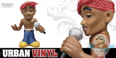 6 Quot Hip Hop Urban Vinyl Tupac By Funko Man Of Action Figures