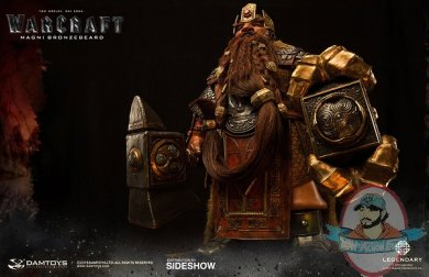 World of Warcraft Magni Barbe Action Figure