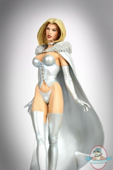 White Queen Emma Frost Retro 12 Quot Statue By Bowen Designs